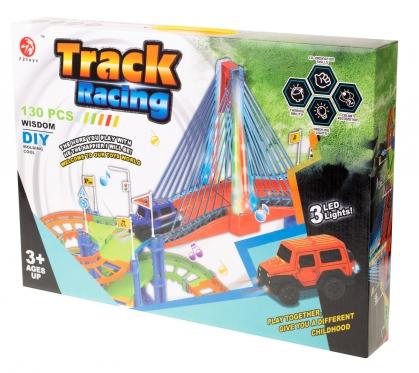 "Automobilių trasa ""Track racing"", 31 x 44 x 6 cm"