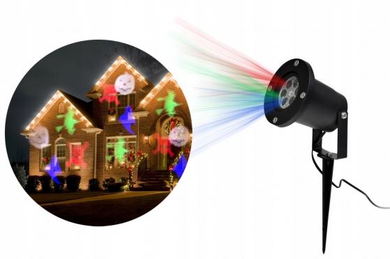Helovino lazerinis šviesos efektų projektorius