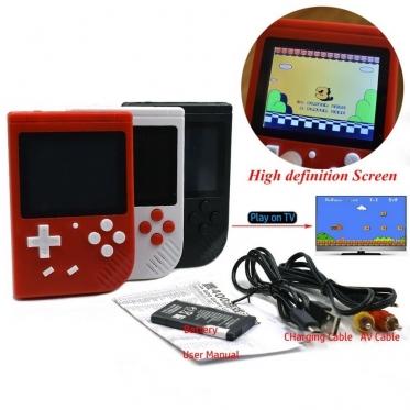 Belaidė retro žaidimų konsolė, 11,7 x 7,8 x 2,4 cm