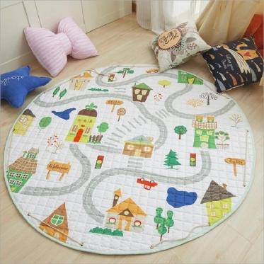"""Žaidimų kilimėlis vaikams """"Miestas"""", 144 cm"""