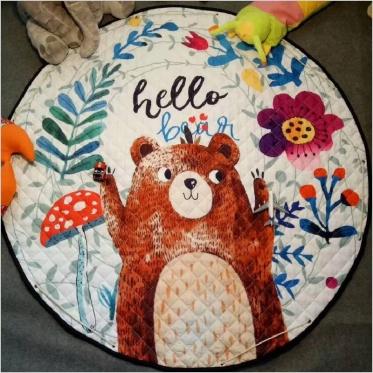 """Žaidimų kilimėlis vaikams """"Meškiukas"""", 144 cm"""