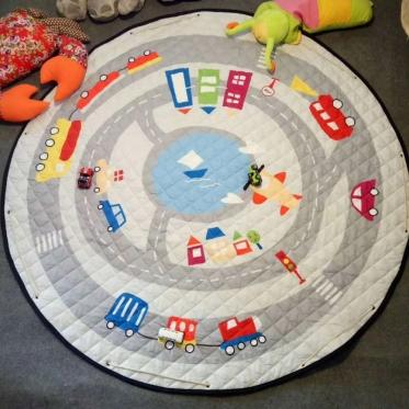 """Žaidimų kilimėlis vaikams """"Gatvė"""", 144 cm"""
