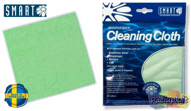 "Universali šluostė ""Smart Cleaning Cloth"""