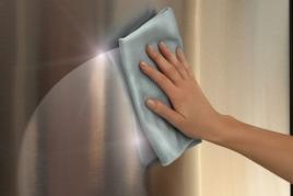 """Nerūdijančio plieno paviršių valymui skirta šluostė """"Smart Polish Cloth""""!"""