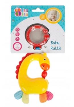 """Barškutis - kramtukas kūdikiams """"Bam-Bam Žirafa"""""""
