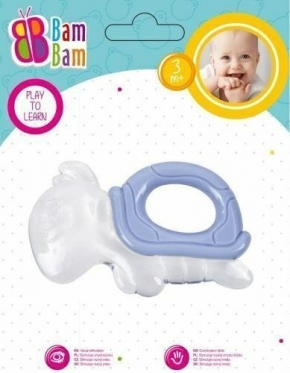 """Kramtukas kūdikiams """"Bam-Bam Vėžlys"""", violetinis"""