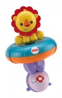 """Fisher Price"" vonios žaislas ""Liūtas ir begemotas"""