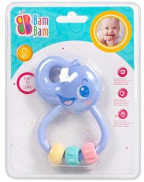 """Barškutis - kramtukas kūdikiams """"Bam-Bam Drambliukas"""""""