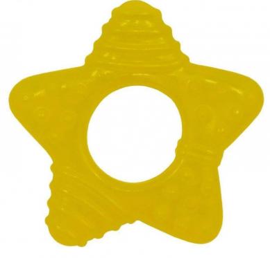 """Kramtukas kūdikiams """"Žvaigždutė"""", geltonas"""