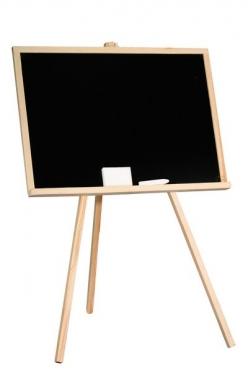 Edukacinė piešimo lenta, 98 x 5,5 x 65 cm