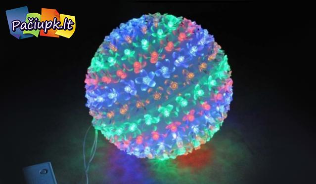 Šviečiantis 150 LED burbulas
