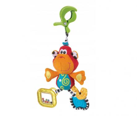 """Pakabinamas pliušinis žaislas """"Playgro Beždžionė"""", 30 cm"""