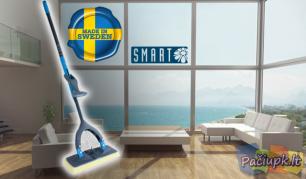 """""""Smart SvampMopp"""" šepetys - lengvesniam ir greitesniam namų valymui!"""