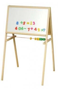 Dvipusė magnetinė piešimo lenta, 107,1 x 3,6 x 64,5 cm