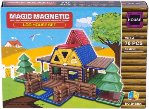 "Konstruktorius ""Magiški magnetai"", 70 vnt"
