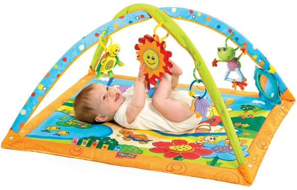 """Edukacinis kilimėlis kūdikiams """"Saulėta diena"""", 86 x 80 x 40 cm"""