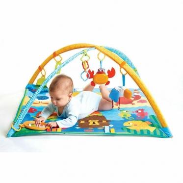 """Edukacinis kilimėlis kūdikiams """"Vandens pasaulis"""", 62 x 15 x 79 cm"""