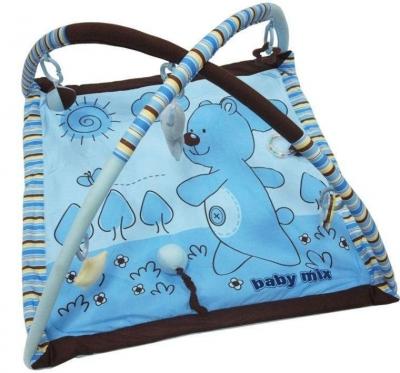 """Edukacinis kilimėlis kūdikiams """"Baby Mix Meškiukas"""", 75 x 60 cm"""
