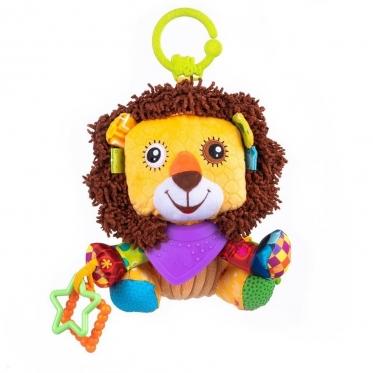 """Pakabinamas pliušinis žaislas """"Balibazoo Liūtas"""", 33 x 16 x 15 cm"""