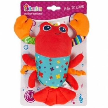 """Pliušinis žaislas """"Bam Bam Krevetė"""", 25 x 19 cm"""
