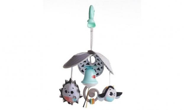 """Pliušinių žaislų karuselė kūdikiams """"Tiny Love"""", 37 х 15 cm"""