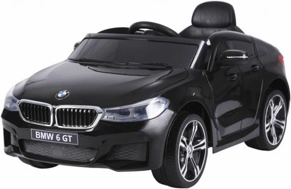 """Nuotolinio valdymo vaikiškas automobilis """"BMW 6 GT"""", juodas"""