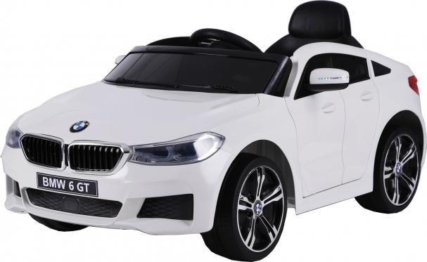 """Nuotolinio valdymo vaikiškas automobilis """"BMW 6 GT"""", baltas"""