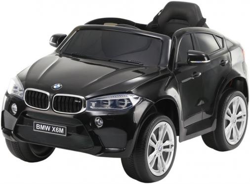 """Nuotolinio valdymo vaikiškas automobilis """"BMW X6M"""", juodas"""