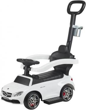 "Paspiriamas vaikiškas automobilis ""Mercedes Benz AGM"", baltas"