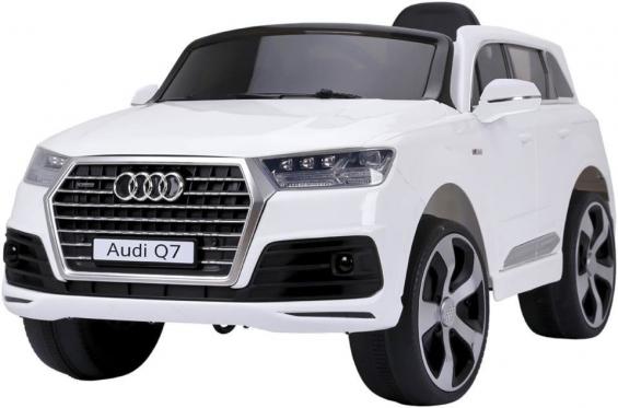 """Nuotolinio valdymo vaikiškas automobilis """"Audi Q7"""", baltas"""