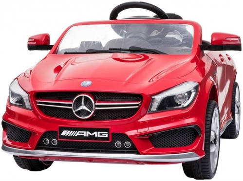 """Nuotolinio valdymo vaikiškas automobilis """"Mercedes Benz AMG"""", raudonas"""