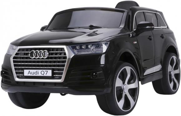 """Nuotolinio valdymo vaikiškas automobilis """"Audi Q7"""", juodas"""