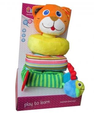 """Pliušinis žaislas """"Bokštas - Katė"""""""