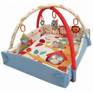 """Edukacinis kilimėlis kūdikiams """"Pelėda"""", 75 x 60 cm"""
