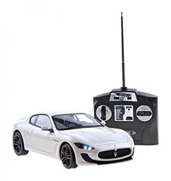 """Nuotolinio valdymo mašinėlė """"Maserati Gran Turismo"""", 11 x 5 x 3 cm"""