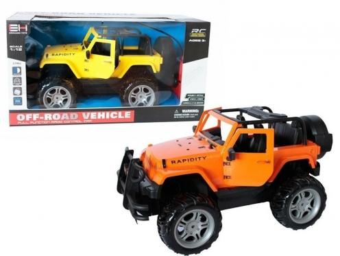"""Nuotolinio valdymo mašinėlė """"Jeep"""", 35 x 21 x 17,5 cm"""