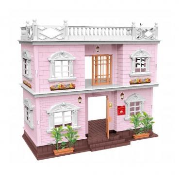 """Dviejų aukštų lėlių namas """"Villa"""", 34 x 18 x 34 cm"""