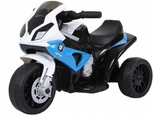 """Elektrinis triratis motociklas vaikams """"BMW"""", mėlynas"""