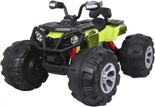 "Elektrinis vaikiškas keturratis ""JS - 3188 QUAD"" (žalias)"