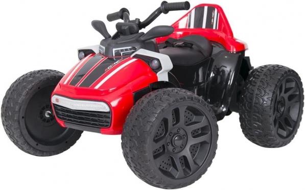 "Elektrinis vaikiškas keturratis ""SMT - 918 QUAD"" (raudonas)"