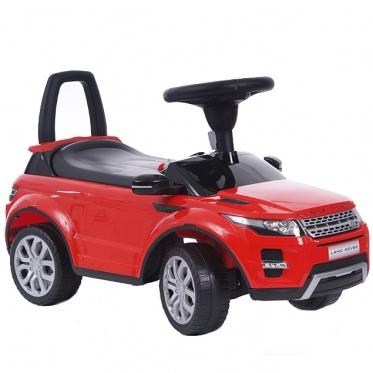 """Mašinėlė - paspirtukas """"Land Rover"""" (raudonas)"""