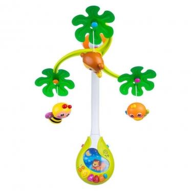 """Žaislų karuselė kūdikiams """"Dumel Discovery"""", geltona"""