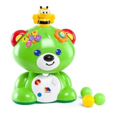 """Daugiafunkcinis žaislas """"Molto Meškiukas"""", 25,5 x 19,5 x 36,5 cm"""