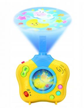 """Vaikiškas projektorius """"Vaikų svajonės"""", 19 x 23 x 8,5 cm"""