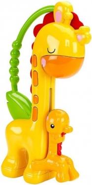 """Barškutis kūdikiams """"Fisher Price Žirafa"""", 17 x 4 cm"""