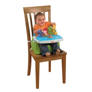 """""""Fisher Price"""" vaikiška maitinimo kėdutė tvirtinama prie kėdės"""
