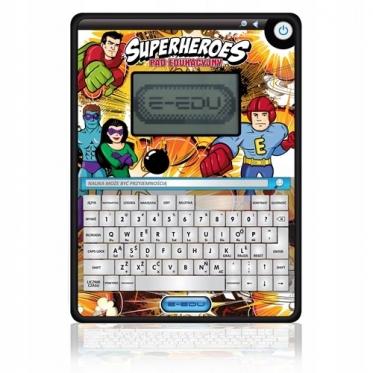 """Edukacinis žaislas """"Planšetė Super herojai"""", 24 x 18 x 1,8 cm"""