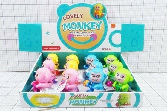 """Žaislas """"Beždžionėlė ant dviratuko"""""""