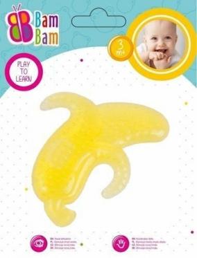"""Kramtukas kūdikiams """"Bam-Bam Bananas"""", geltonas"""