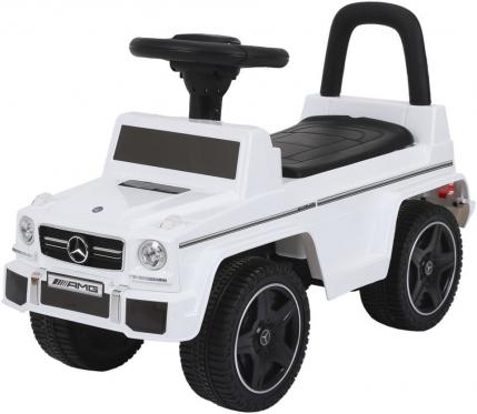 """Mašinėlė - paspirtukas """"Mercedes AMG"""" (balta)"""